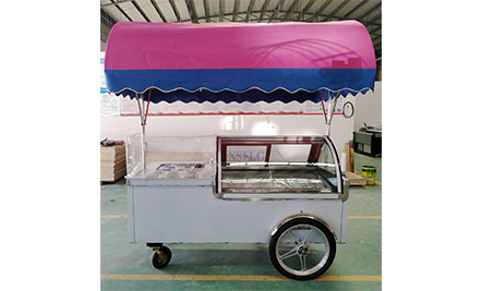 Gelato Ice Cream cart B4-2000 / Ready for Europe