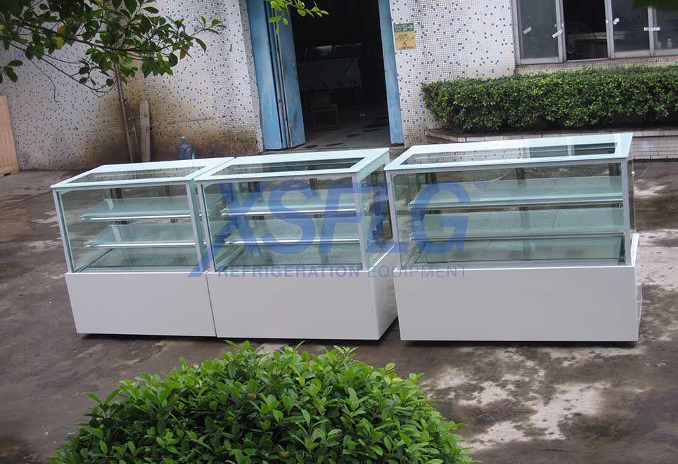 Cake Display Fridge-Square Glass ZJ-Serials