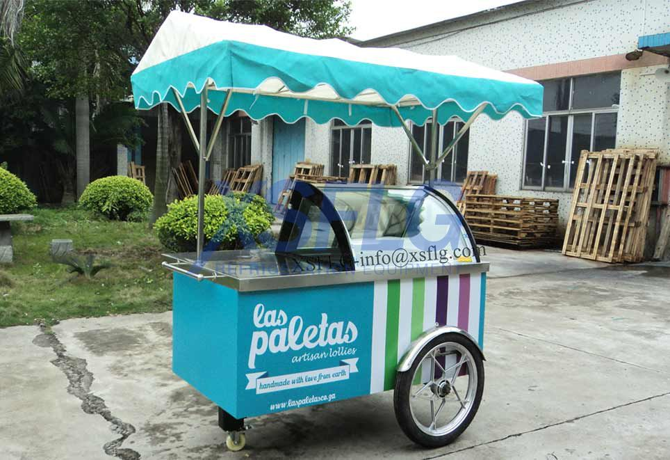 Ice Cream Cart B4
